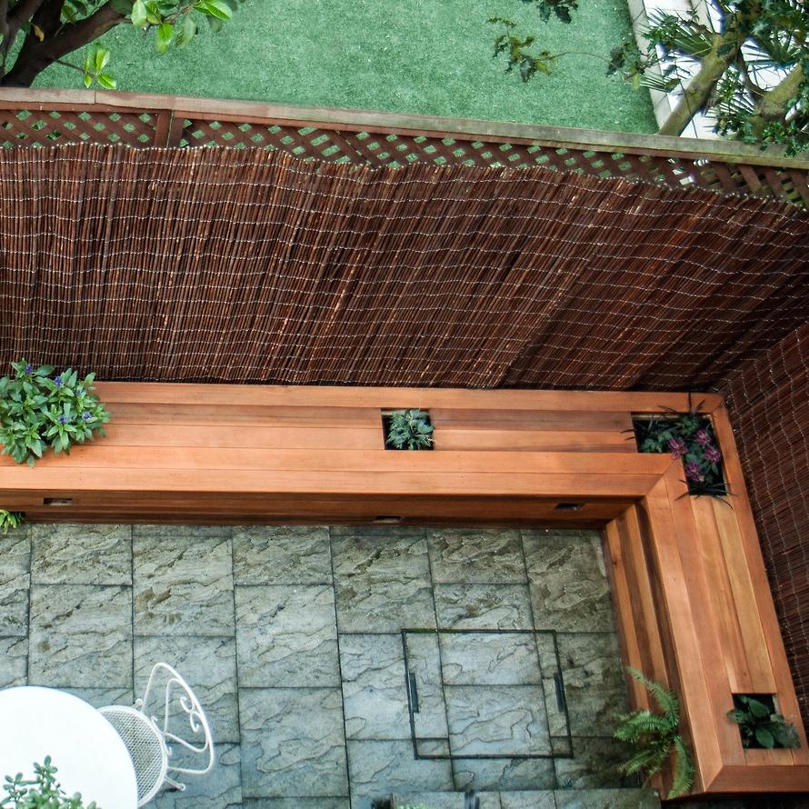Cedar Bench Garden