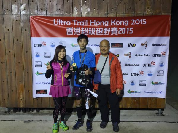 Dominant winner of the 92 km race: Lam Chi Yung (HKG)