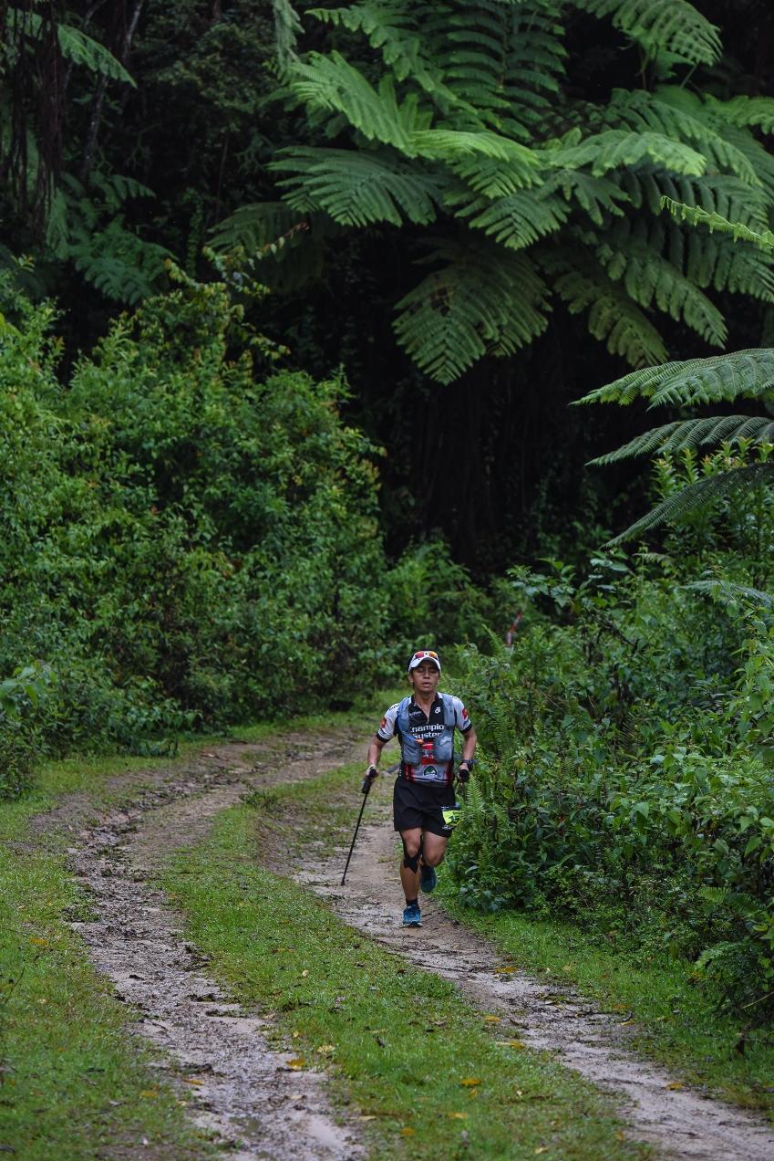 2015 Borneo 100 TMBT champion Daved Simpat