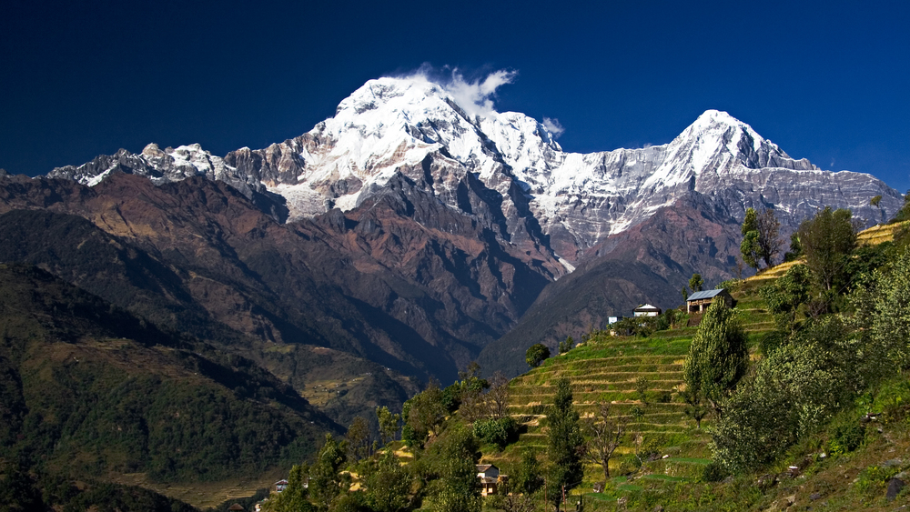 Annapurna 100 is the oldest official trail race in Nepal