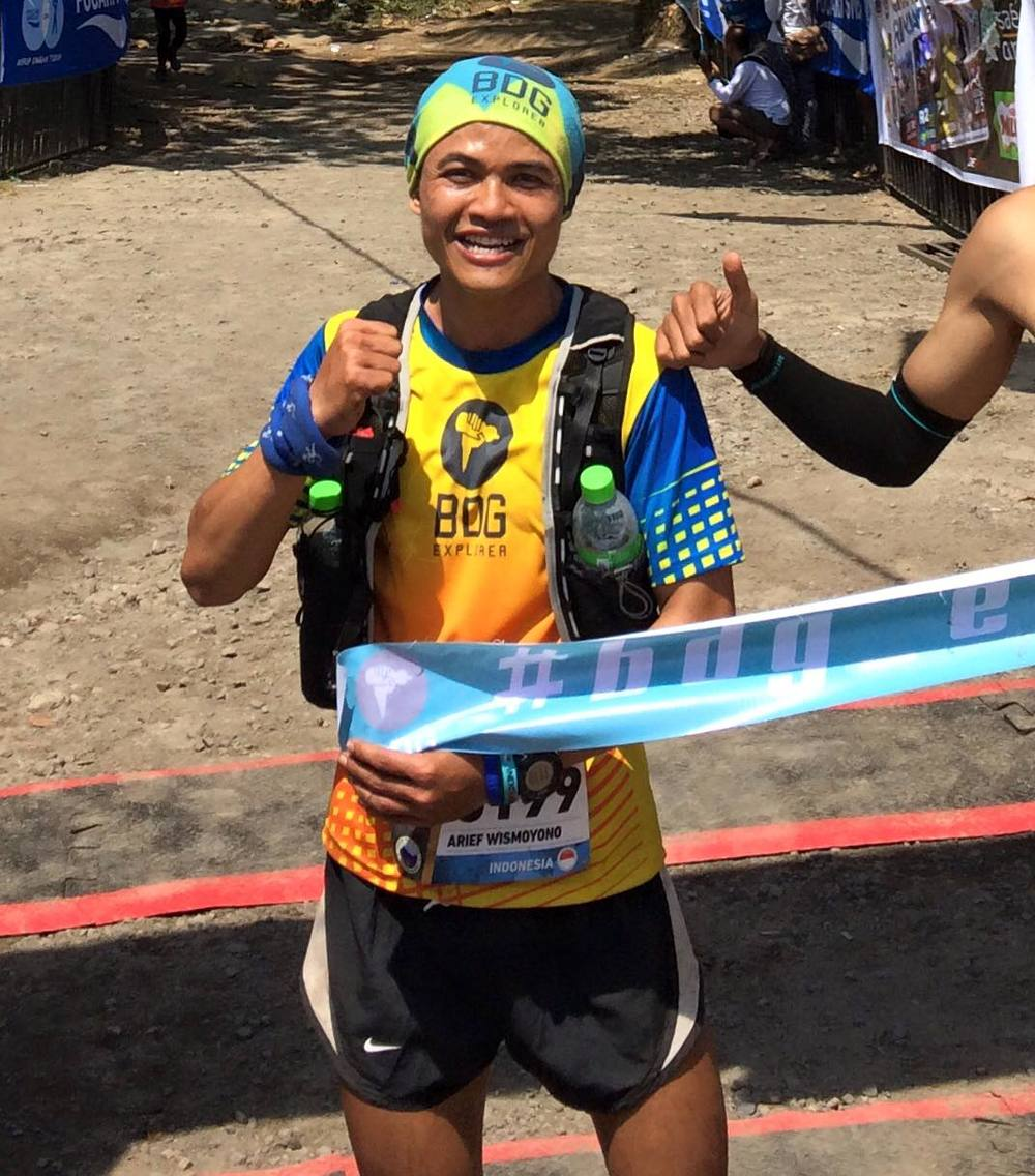 Arief Wismoyono could claim the top spot in the Asia Trail Master ranking for men this weekend at the Mesastila Challenge race in Magelang, Java, Indonesia
