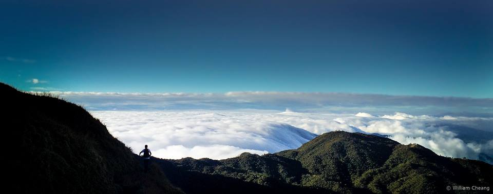 View from the summit of Mount Pulag