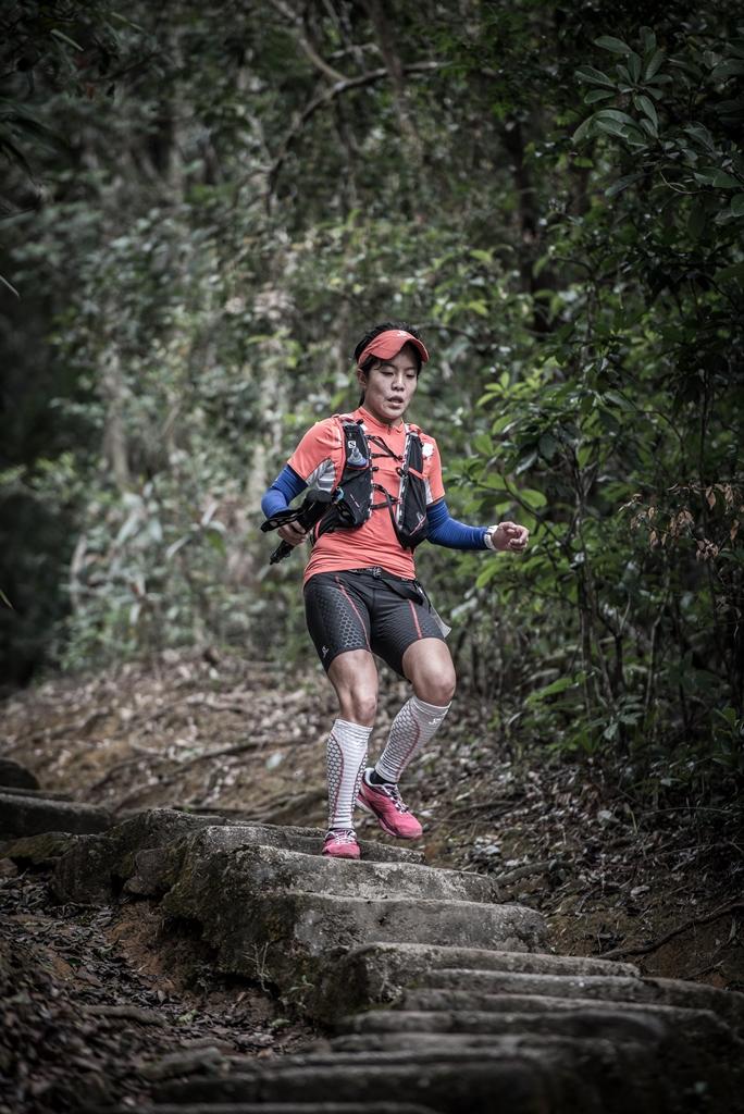 Trail running in Hong Kong always means plenty of steps