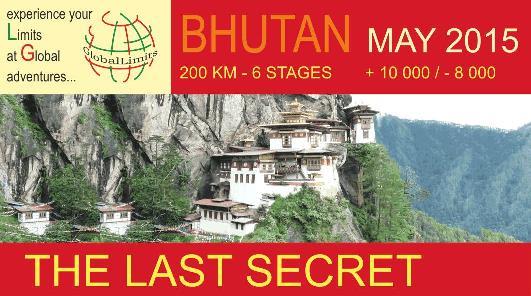 GlobalLimits: the Last Secret (Bhutan) - 27 May (programme start) - Registration deadline 6 May