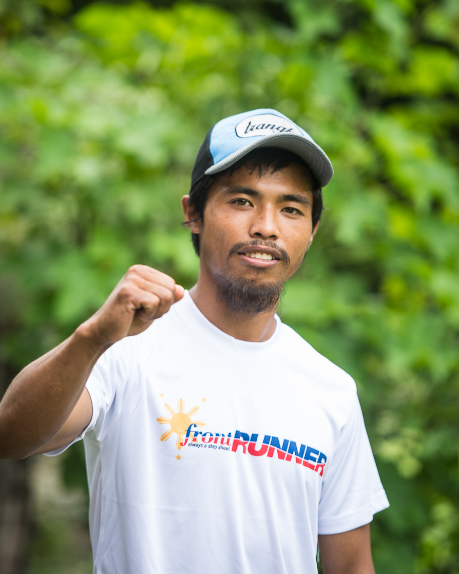 Marcelino Sano-Oy: winner of the Cordillera Mountain Ultra 50 last month: hot favourite for the 60km race in Malaysia this weekend as he begins his international running career