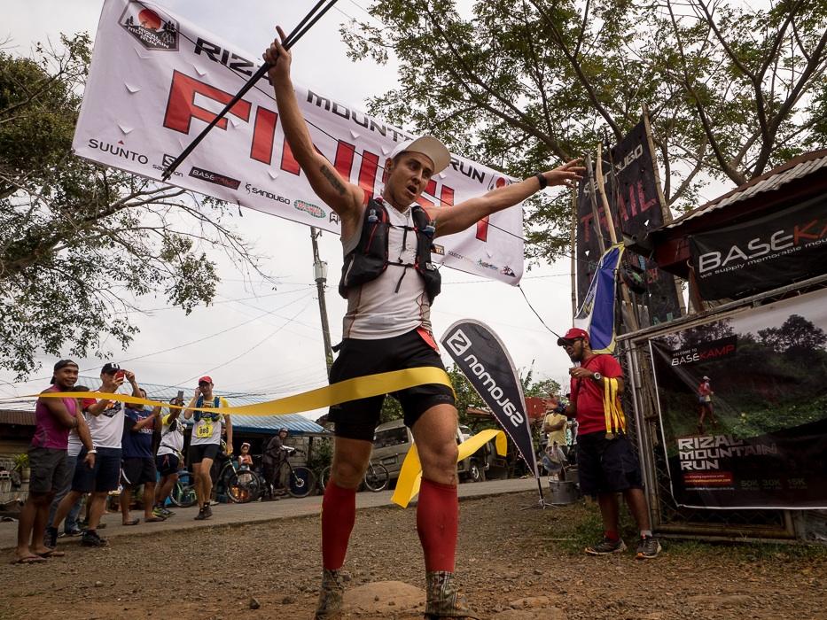 In 2016 Kristian Joergensen was best in the Rizal Mountain Run