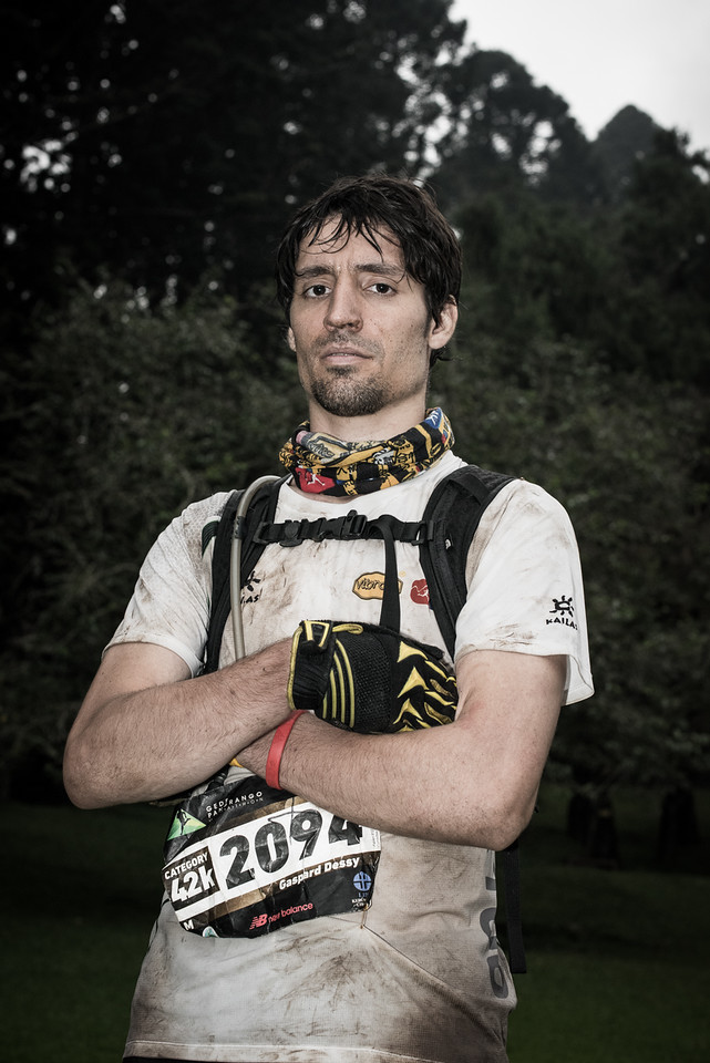 Belgium's Gaspard Dessy was a surprise 3rd in Tahura Trail last month and could put himself on top of the ATM championship ranking this weekend