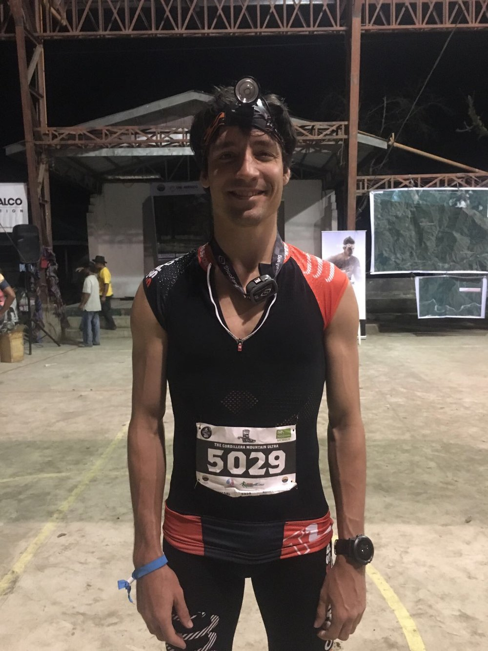 Gaspard Dessy is the new points leader in the men's Asia Trail Master championship