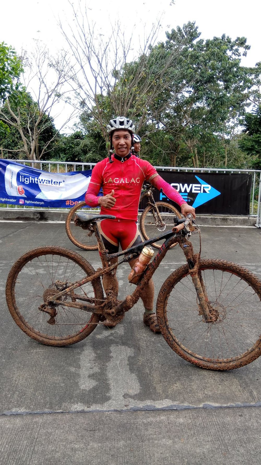 Arnold Lozano from Baguio was the surprising winner of this year's CMU 50 trail race