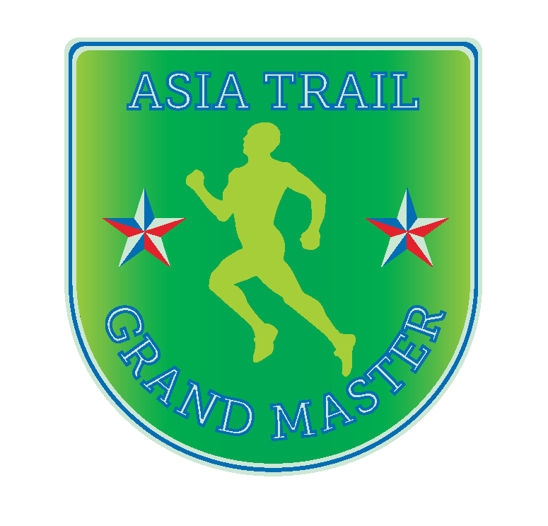 Aleksis Capili now is also the first trail runner to have scored this shield