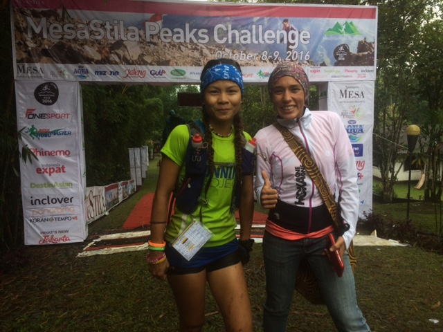 Jessica Lintanga (65k) and Tahira Najmunisaa (100K) won the women's races last year