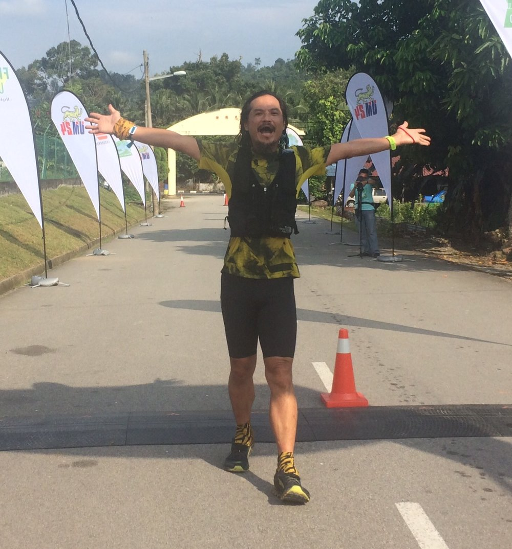 Malaysiá Yim Heng Fatt continues his brilliant trail season with a third place on the 100k