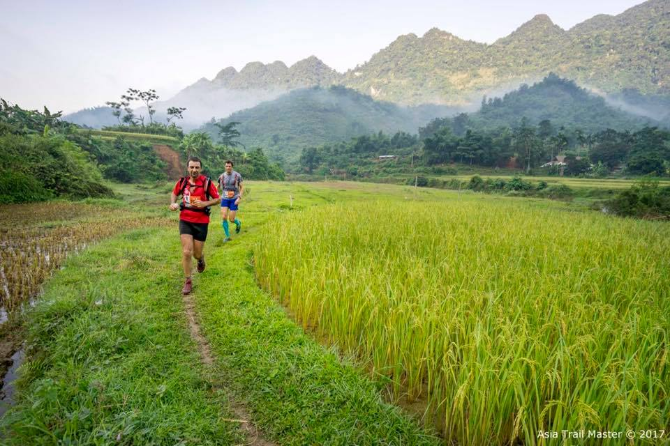 tale of the trail - Date: 14/15 April 2018Country: VietnamRace venue: Po LuongEdition: 2Event organiser: Topas TravelRace distances:70 km (42 and 21 km also available)Elevation gain: 3100 HmHighest altitude: TBCStart time: TBC.Cut-off time: 18 hoursAsia Trail Master finisher points: 100Max Asia Trail Master performance points: 400Grandmaster Quest:YesEvent website:LinkEvent registration: Opening on 9 October 2017International gateway: Hanoi International Airport2017 Male Champion: Cao Ngoc Ha (VIE)2017 Female Champion:Nicole Ng (MAS)