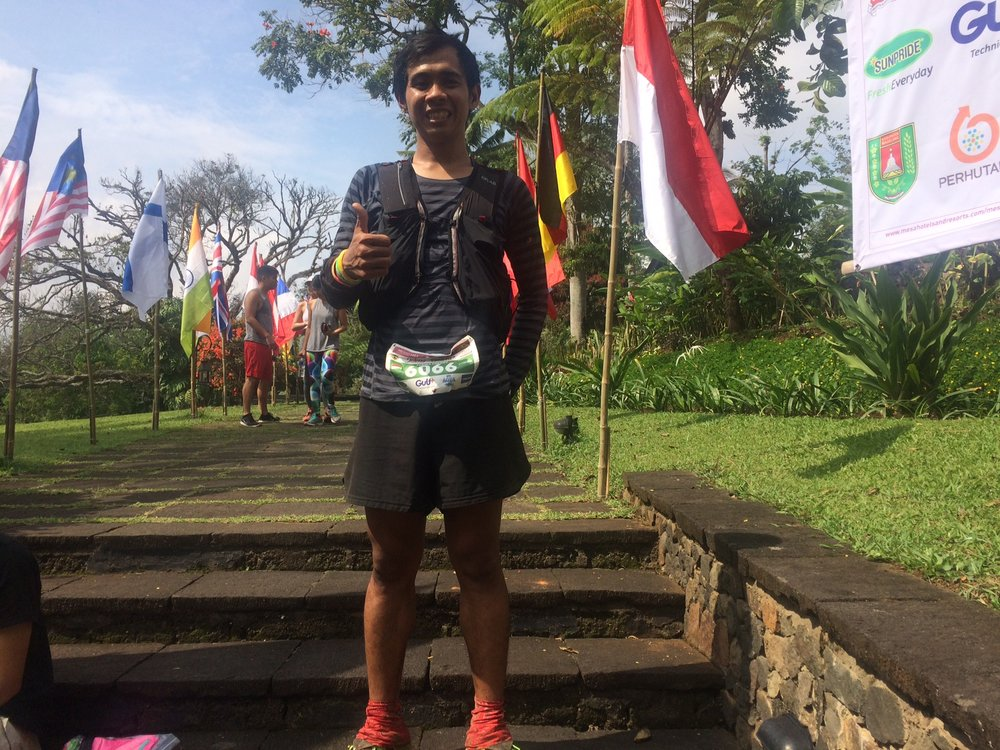 A new face in the Indonesian ultra trail scene: Yurika Chen