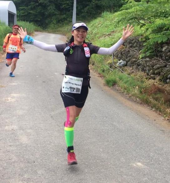 After a good run at Echigo Country Trail in Japan last June, Hong Kong's Charis Chan scored a great third place in the women's 100 miles race!