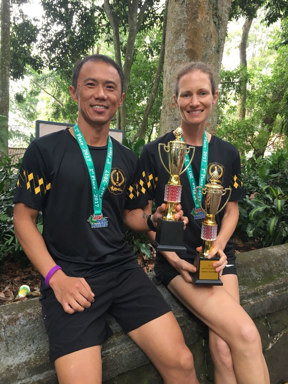 Steven Ong and Kim Matthews were celebrated as the 2017 ATM Champions