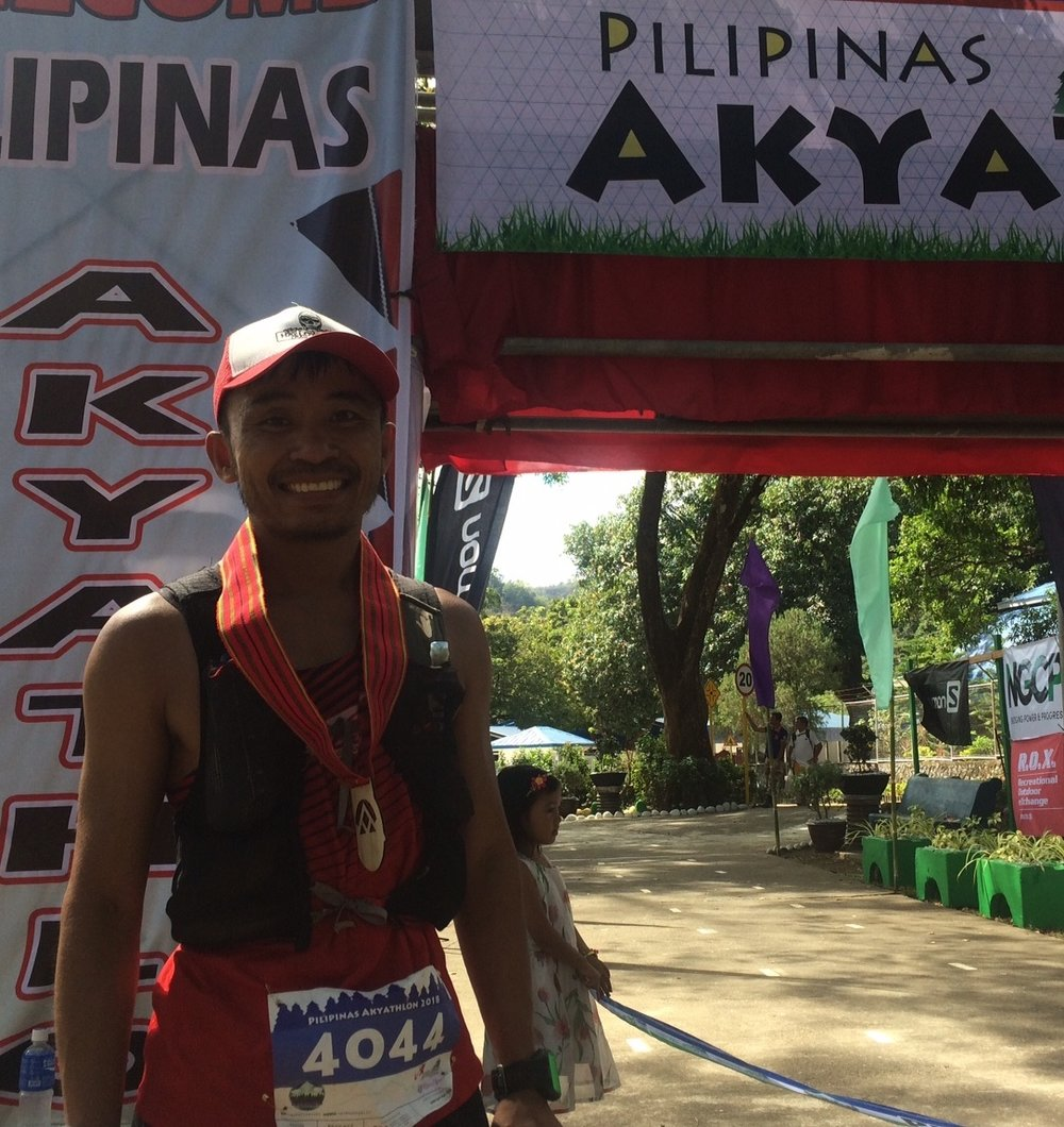 Dean Perez was 9th after 3rd in Rizal last week: he's the new ATM championship leader
