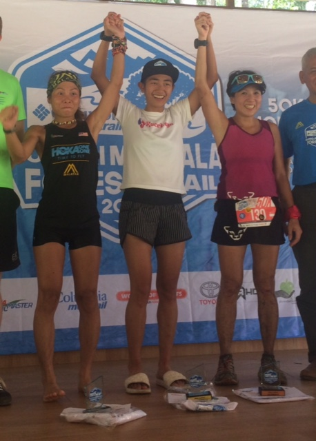 Sandi Menchi won last year ahead of Jess Lintanga and Jeri Chua.