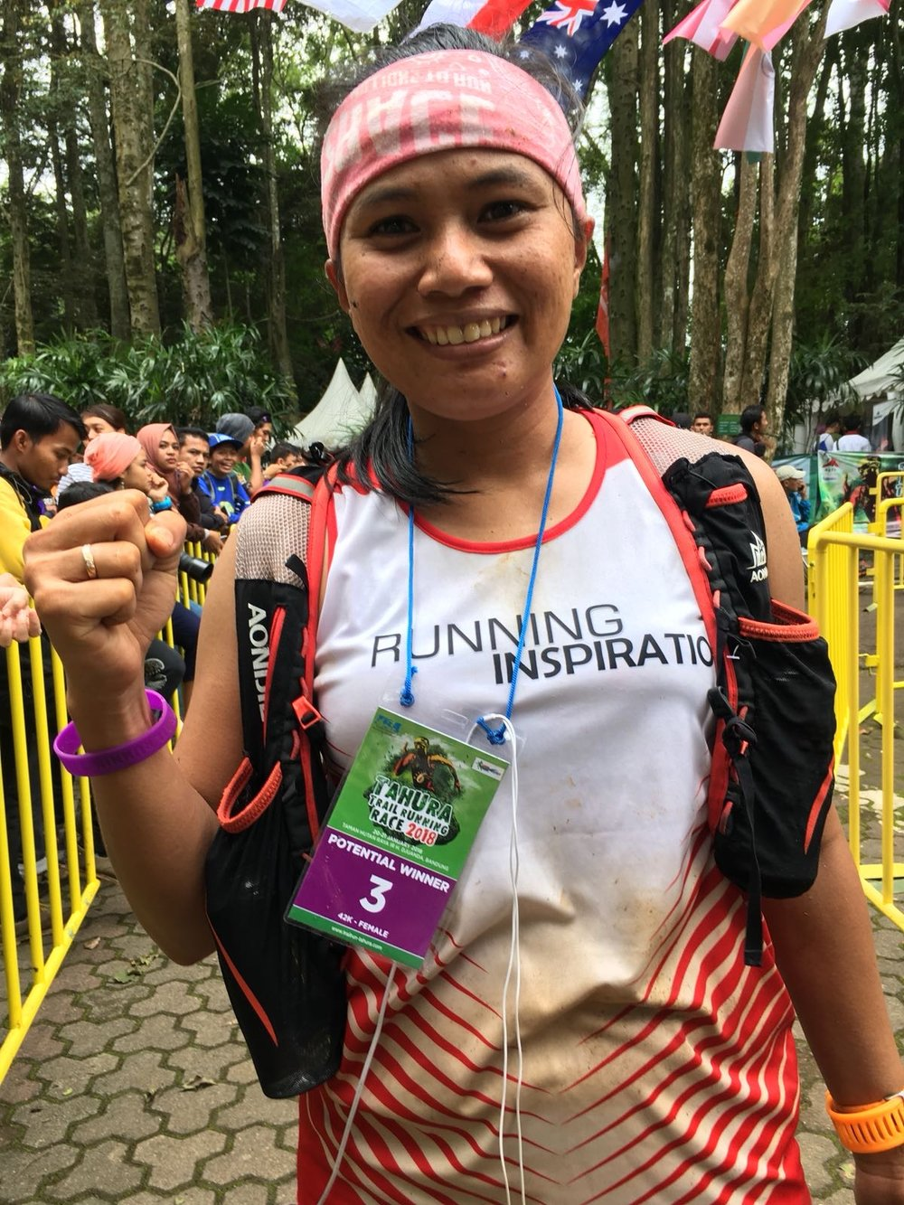 Sri Wahyuni gave race favourite Ruth Theresia a tough challenge in Brunei. Can she do the same on. the much more technical Mantra trail?