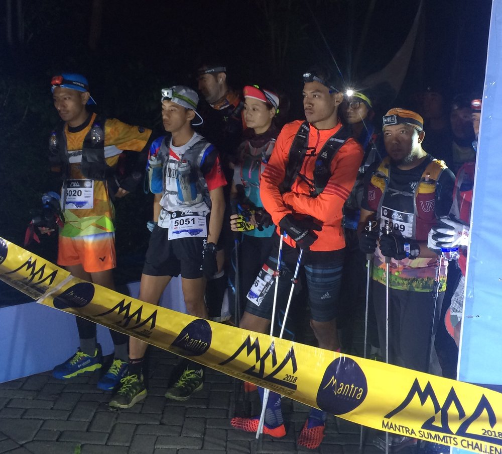 There was also a 50km race at Mantra, won by Bandung's Yusoff Aprian