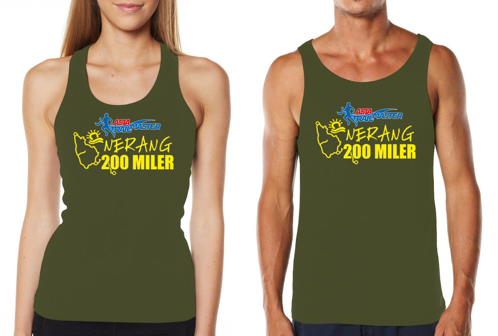 The official singlet for this year's Nerang 200 event
