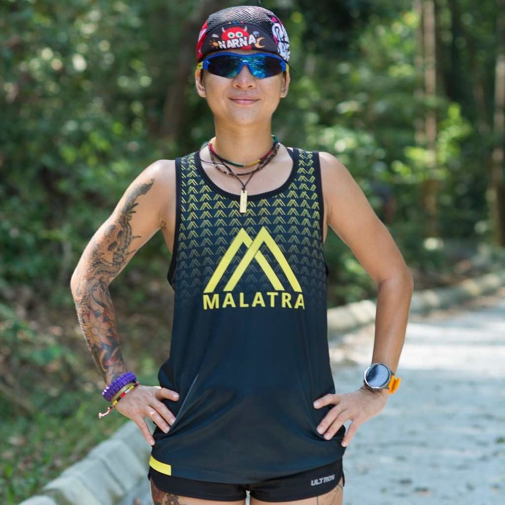 Grandmaster Adelinah Lintanga ready for another tough 100k