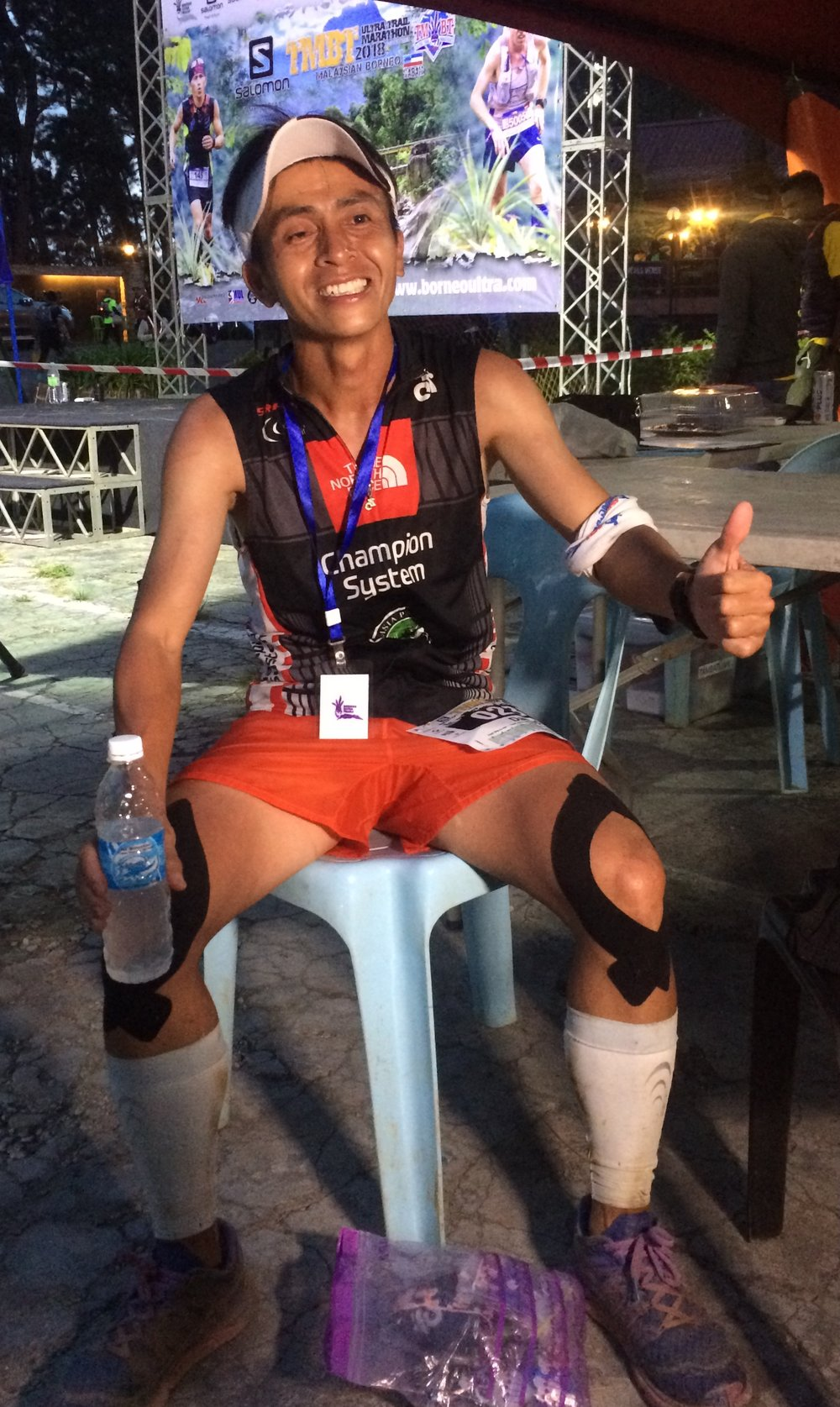 After 2015, local hero Daved Simpat wins Borneo TMBT Ultra 100 again in a commanding way