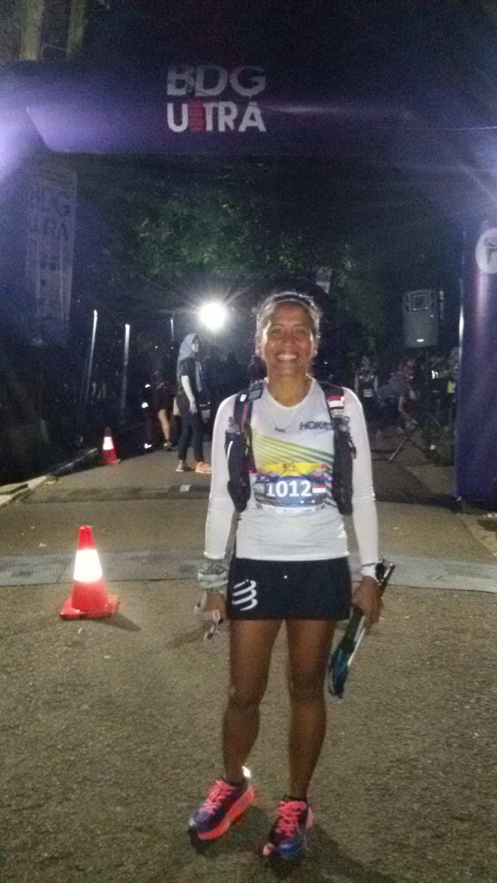 Home star Ruth Theresia won the women's 100k and extends her ATM points lead