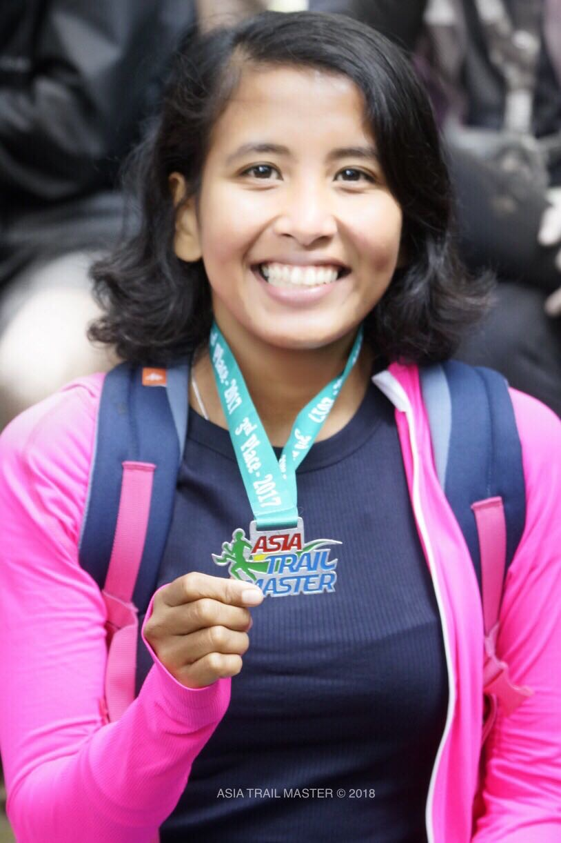 Bandung's Ruth Theresia has scored 4 ATM points race victories so far in 2018