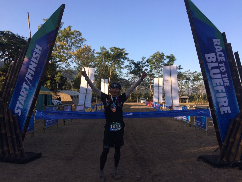 South Korea's Sungsik Joh scored a great first ATM race win on the 100k