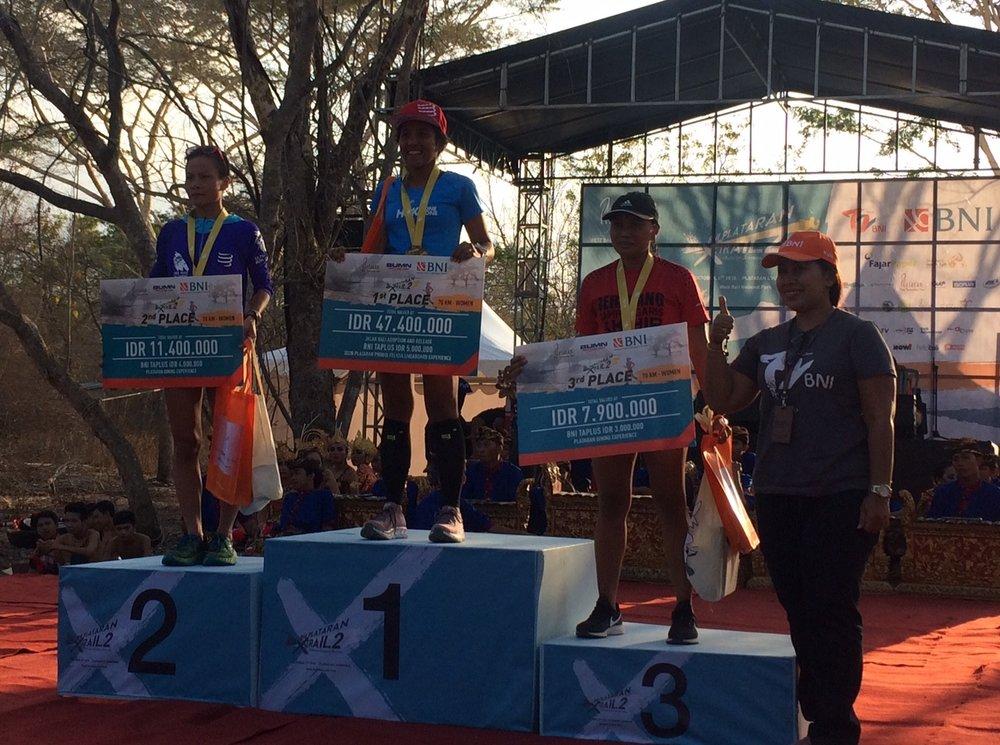 Plataran X Trail Bali Podium Women.JPG