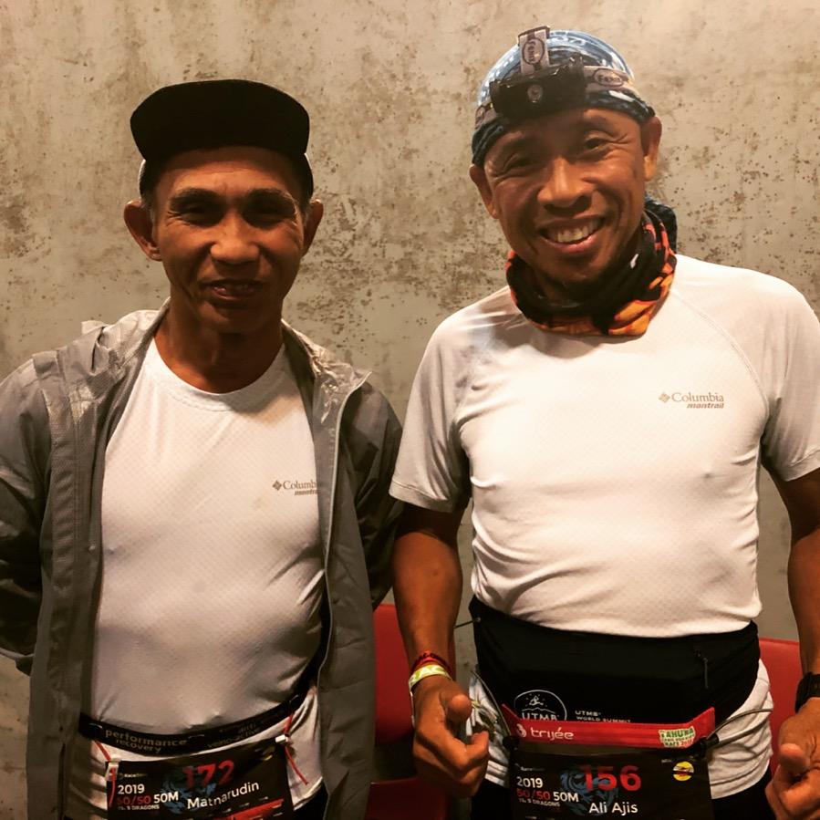 Bruneian Grandmasters Ibrahim Matnarudin and Ali Ajis Rasil
