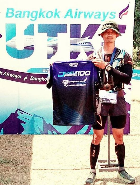 The first Thai Grandmaster: Ohm Malaihom will be in Luang Prabang for his 9th ATM race of 70+ km