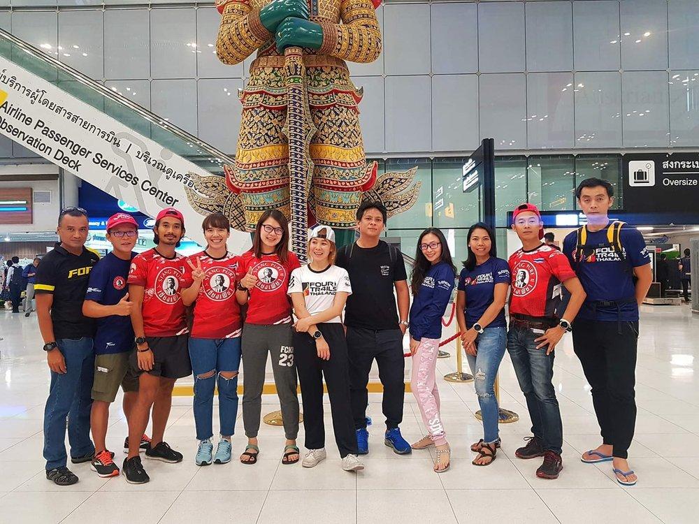 The Thailand group for Tsaigu featuring Sukrit Kaewyoun and Montha Suntornwit