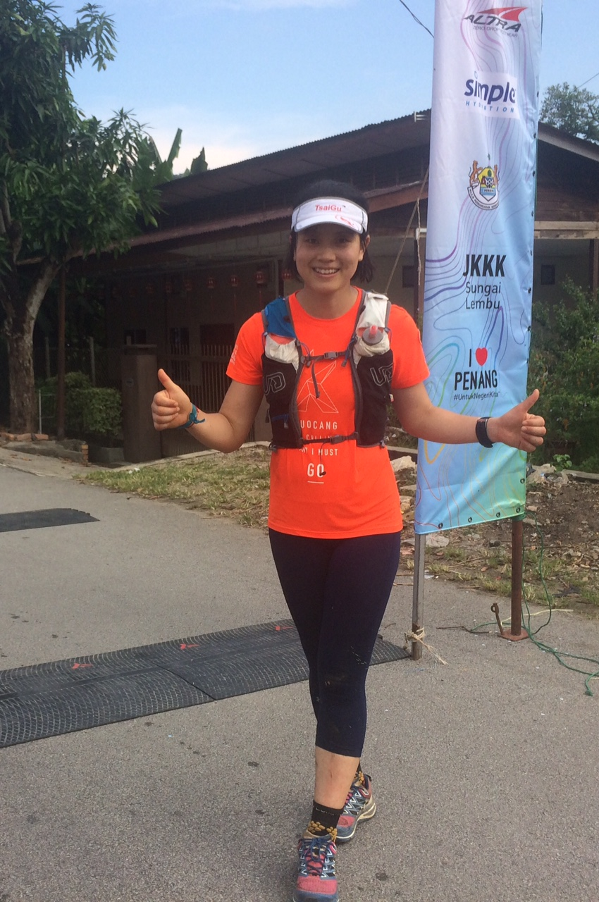 Dong Minfei, winner of Penang Eco 100k in 2017, is one of many local top runners at Tsaigu this weekend