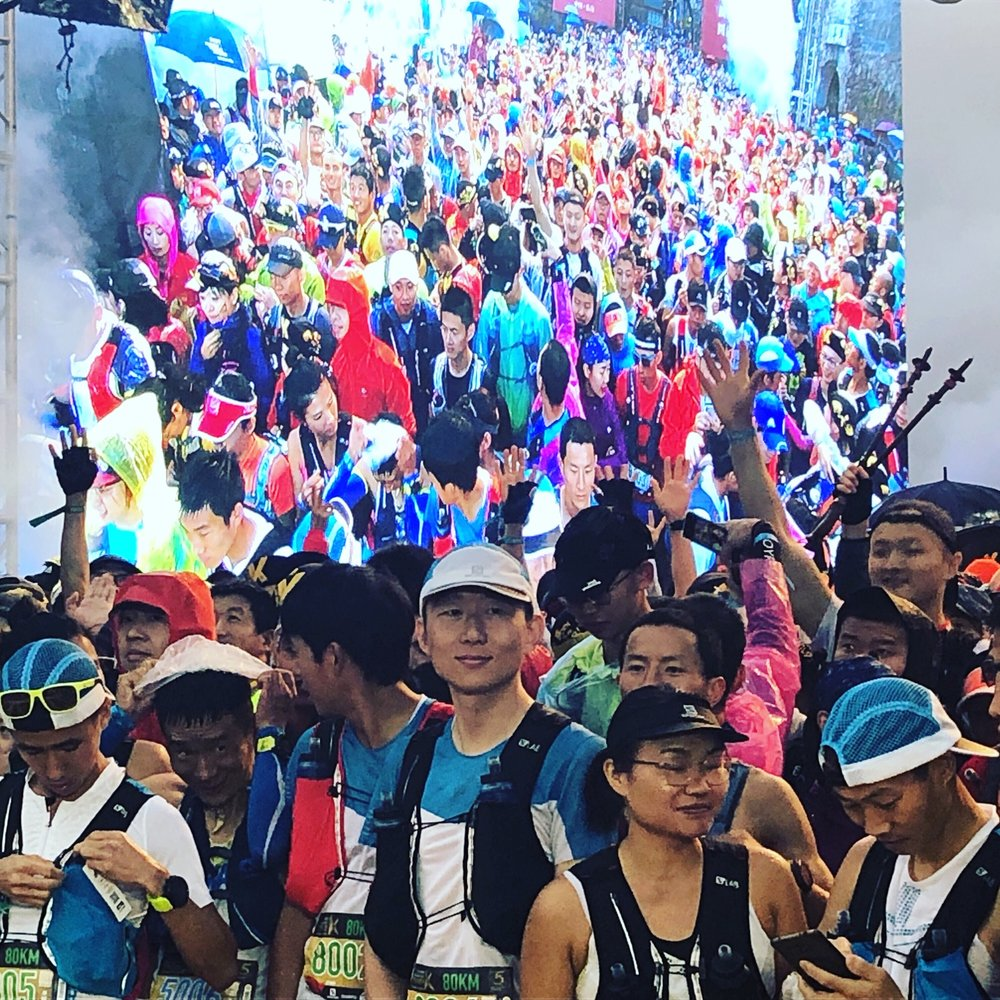 Tsaigu is sold out with 2000 runners at the starting line: it's at the top of China's trail scene