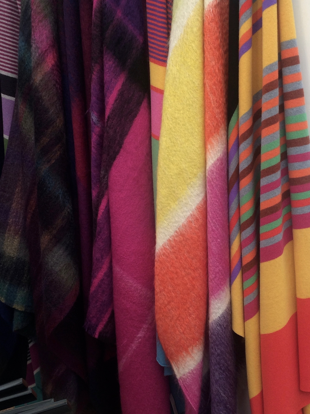 Striking Colours and designs from Green Grove Weavers