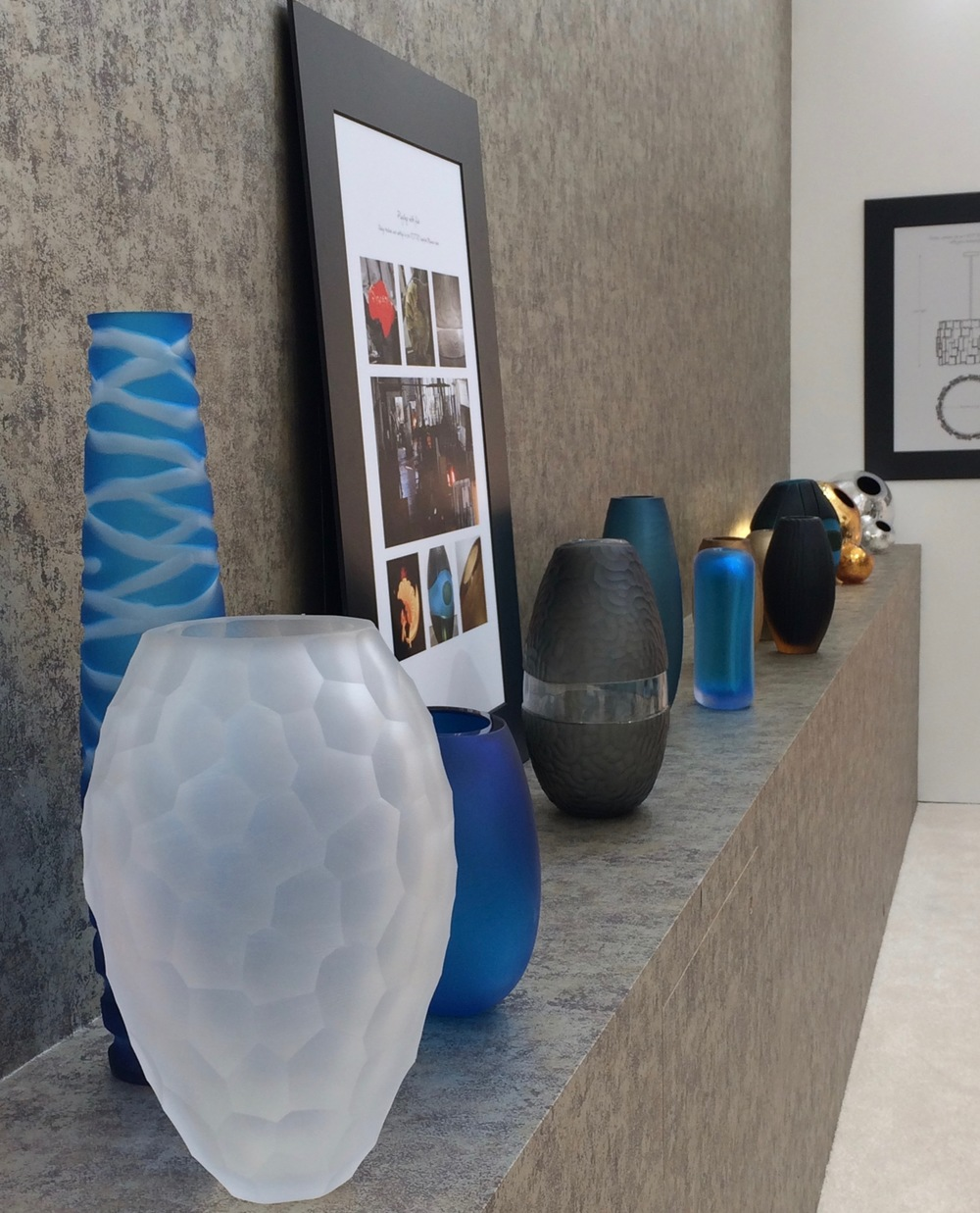 Mesmerising collection of Murano glass at Harlequin London stand