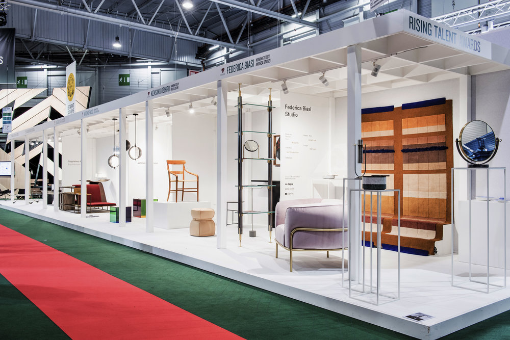 Rising Talent Awards stand in hall 7 at Maison&Objet, January 2018  ©  Maison&Objet