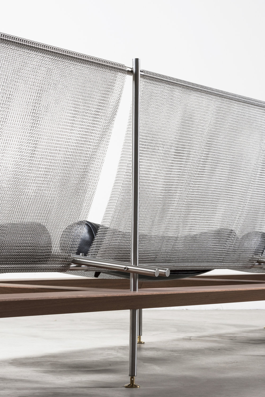 Detail of  Atem  modular sofa designed by Atelier LAVIT © Daniele Lodice