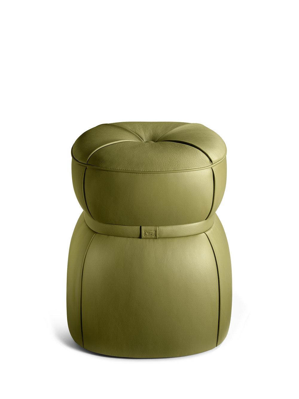 Leply Pouf designed by Kensaku Oshirol for  Poltrona Frau  ©  Oriani Origone
