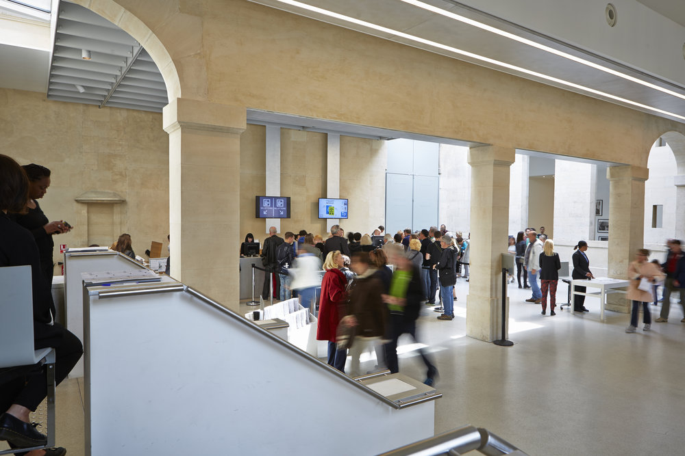 Entrance Hall of the Musée National Picasso in Paris © Fabien Campoverde