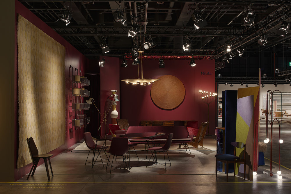 Nilufar stand at Deisign Miami | Basel 2018 ⓒ Nilufar Gallery, Milan