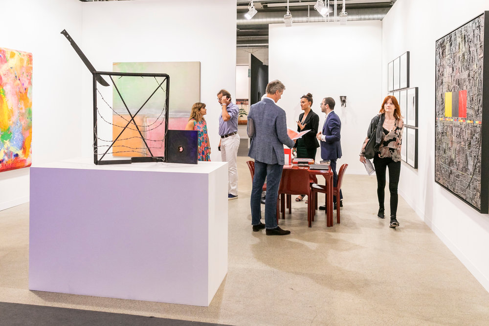 Alexander Gray Associates gallery space at Art Basel 2018 ⓒ Art Basel