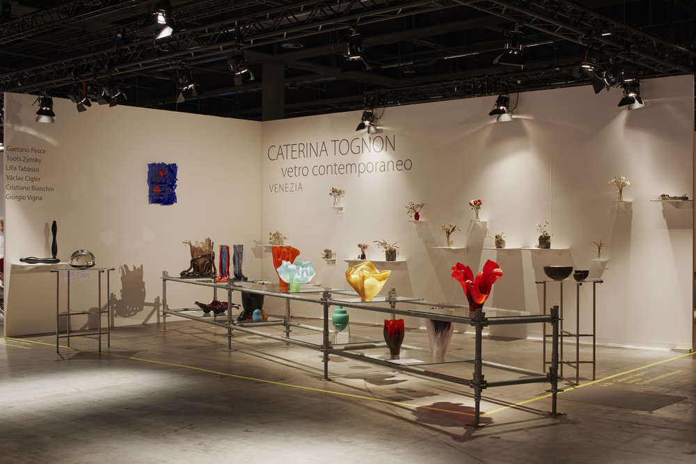 Caterina Tognon stand at Design Miami/ Basel June 2018, ⓒ  James Harris