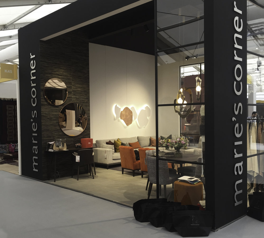 Marie's Corner stand at Decorex International ©Marie's Corner
