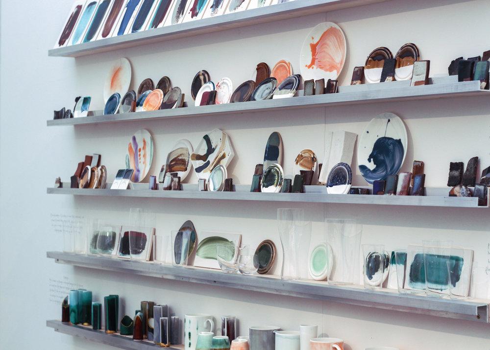 Reiko Kaneko collection on display at Decorex 2018 ©Reiko Kaneko