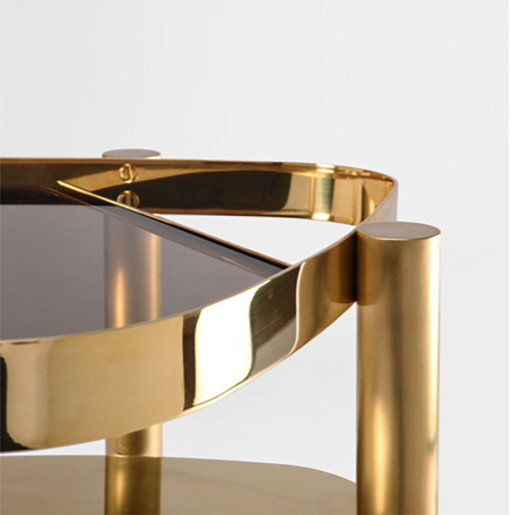 BIJOU side table, detail © OKHA