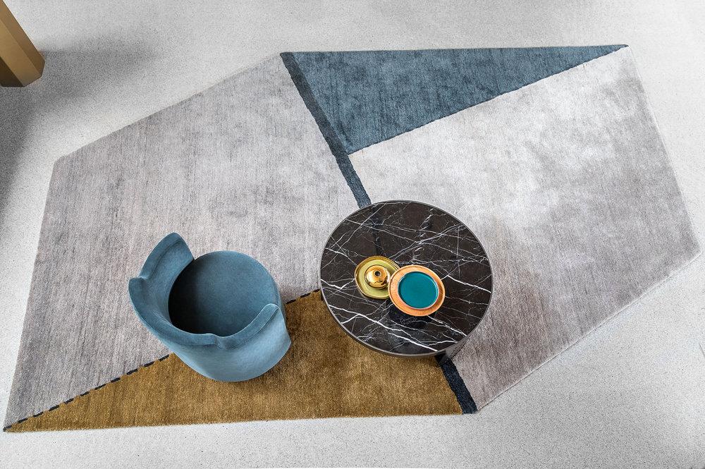 Oblique  rug © Niel Vosloo