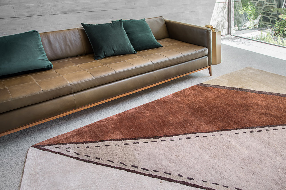 STONE #1 rug © Niel Vosloo